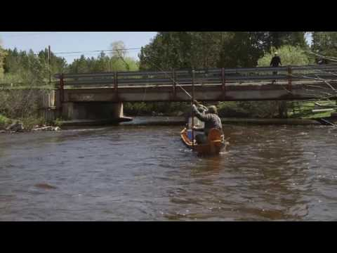 American Rivers Tour 2017 - Colin Ambrose on the Au Sable River