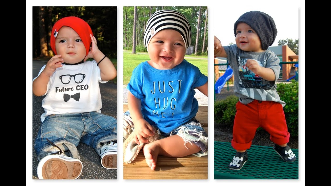 Baby Fashion | Baby Boy Outfit (7 months old) | How to ...