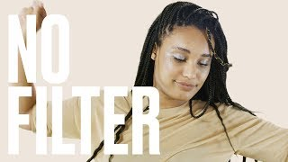 Five People Try Rihanna's Fenty Beauty's Limited-Edition Silver Highlighter | No Filter | ELLE