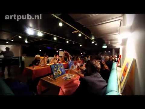1001activiteiten.nl - Artpub schilder workshops in cafe's