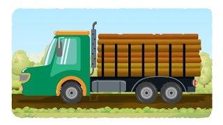 відео вантажівка вантажівка для дітей журнал вантажівка