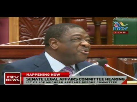 Senate Legal Affairs Committee Hearing