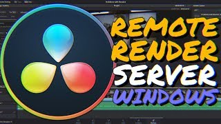 How to set up a RENDER SERVER in DaVinci Resolve (Windows Remote Render Complete Guide)