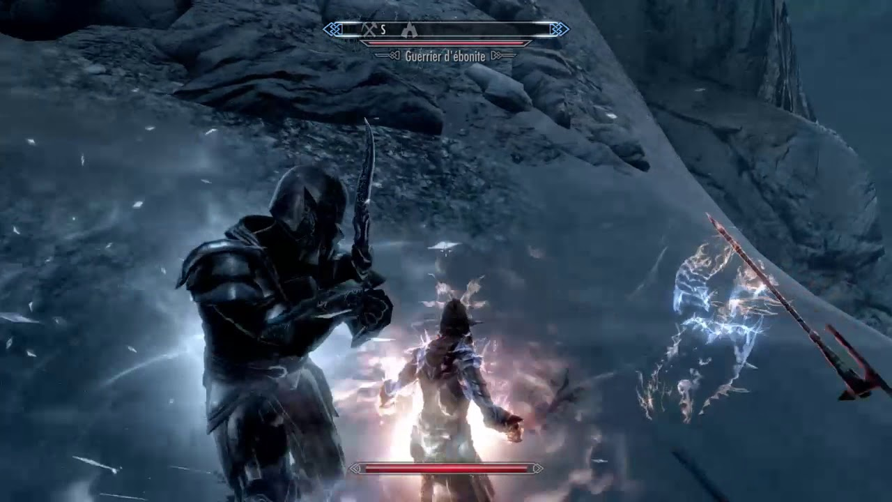 Ebony Warrior Unarmed Combat [Legendary no mods]