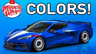 2020 Corvette C8 Colors: Review Every Color on Road|Test Different Lighting | Mid Engine | Sound