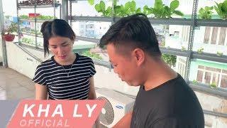 vườn rau thuỷ canh sân thượng nhà Kha Ly ở quê nhà An Giang