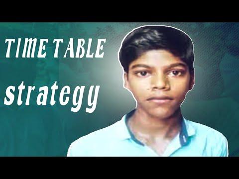 Download Bihar topper Himanshu Raj ka time table aur strategy to study बिहार टॉपर हिमांशु राज का टाइम टेबल और