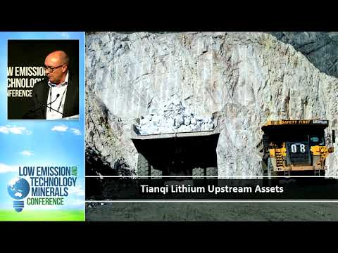 Low Emission & Technology Minerals Conference 2017 - Tianqi Lithium Presentation