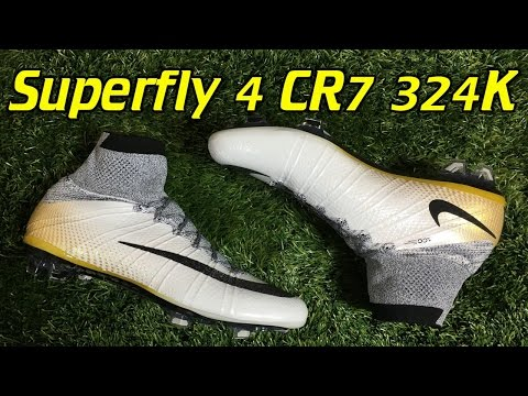 CR7 324K Gold Nike Mercurial Superfly 4 Review + On Feet