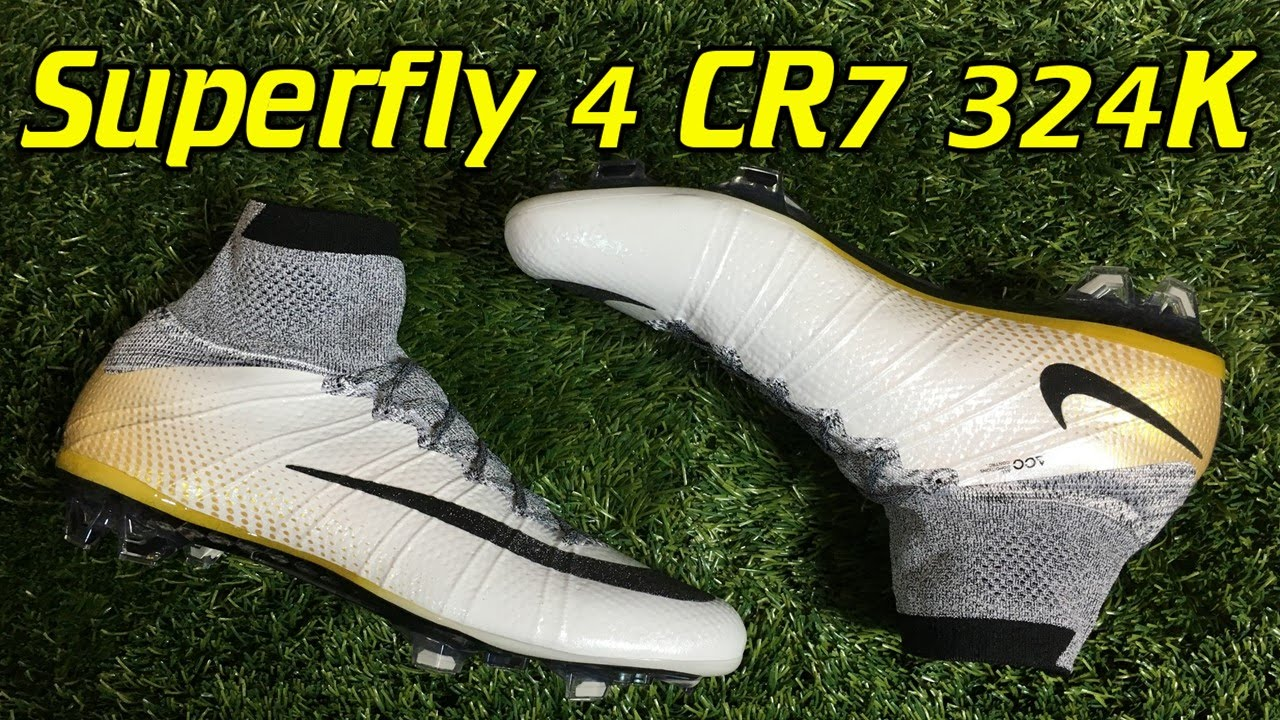 2d6bf722cd CR7 324K Gold Nike Mercurial Superfly 4 - Review + On Feet - YouTube