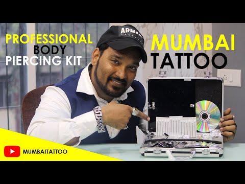 Professional Body Piercing Kit By MUMBAI TATTOO SUPPLY Nadeem Batliwala 9699735303