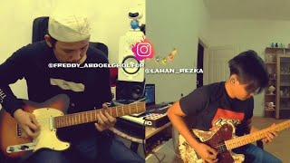 Kangen band - Cinta tak bersalah LIVE guitar cover by RezkaVsReady