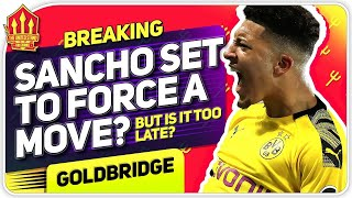 SANCHO FORCING TRANSFER! Man United Transfer News