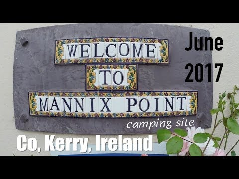 Vlog - Mannix Point Camping Site & Gift Shop In Co Kerry, Holidays In Ireland