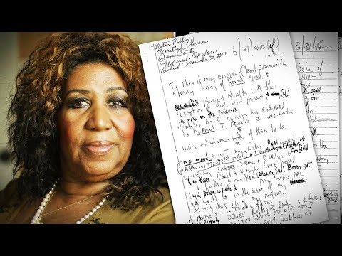 Glenn Cosby - Aretha Franklin's Hand Written Will's - Are They Legal?