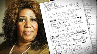 Where Aretha Franklin Hid 3 Handwritten Wills at Home