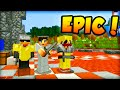 "Minecraft HUNGER GAMES - ""EPIC SQUAD!"" - w/ Ali-A #49!"