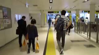 地下鉄東西線 西11丁目駅から札幌駅まで