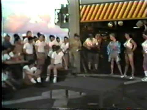 USS Hepburn Wog Queen 1987
