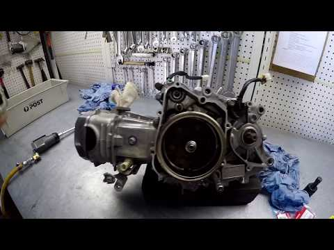 How To Remove A Cam Chain On A Honda NBC 110 Post Bike Part 2