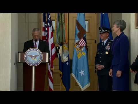 New Air Force Secretary Takes Office