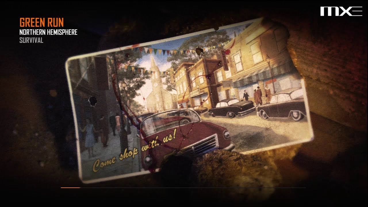 Call Of Duty Black Ops 2 Zombies Green Run Town Survival