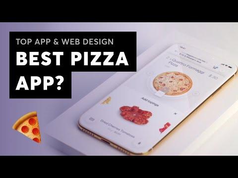 BEST PIZZA APP - Top App & Web Design Inspiration