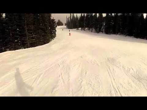 Copper Mountain Colorado Skiing - Super Bee to Hallelujah and Sail Away Glade