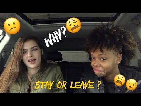 STAY OR LEAVE CHALLENGE | E&K Forever