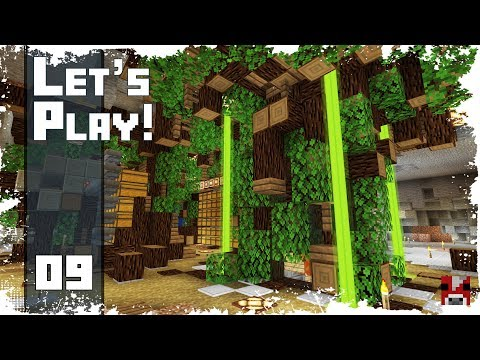 Minecraft Timelapse - SURVIVAL LET'S PLAY - Ep. 09 - We are BACK! (WORLD DOWNLOAD)