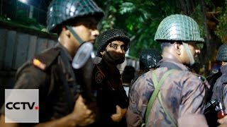 Around 20 people taken hostage by gunmen in Dhaka, Bangladesh
