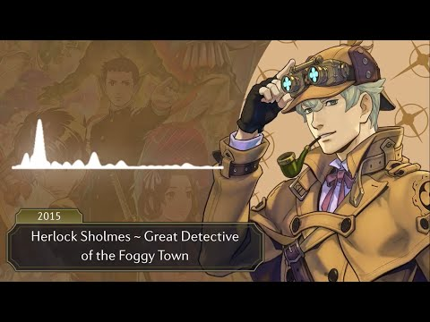 Ace Attorney: All Detective Themes 2021