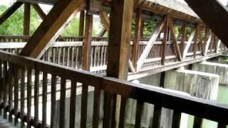 Footbridge in Wolfratshausen