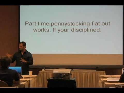 My Presentation from Timothy Sykes 3rd Annual Las Vegas Pennystocking Seminar #1