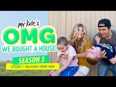 Backyard Theme Park | OMG We Bought A House!