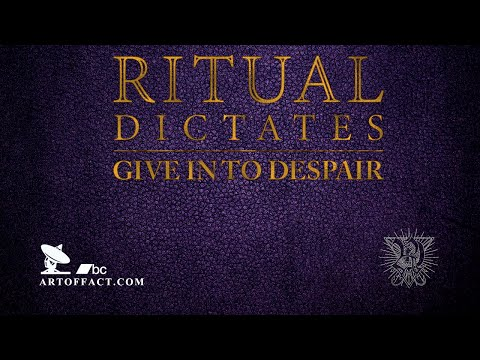 RITUAL DICTATES: Give In To Despair FULL ALBUM STREAM #Artoffact #Revocation #3InchesOfBlood