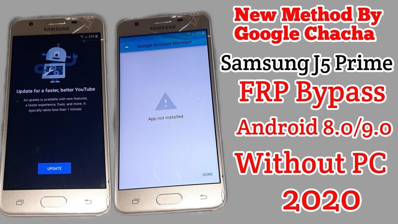 Samsung J5 Prime G570f 8.0 U3 & S3 Frp Bypass 100% FRP Unlock | Google Lock Remove | Without Pc 2020