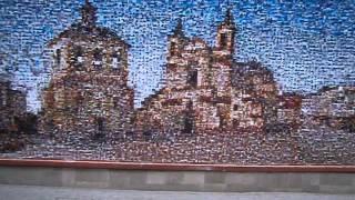 А в вашем городе такое есть? Мозаика из лиц. Класс!(Арт-проект в г.Ивано-Франковске. Жители города высылают свои фото на сайт, из этих фотографий художник твори..., 2013-06-12T12:48:16.000Z)