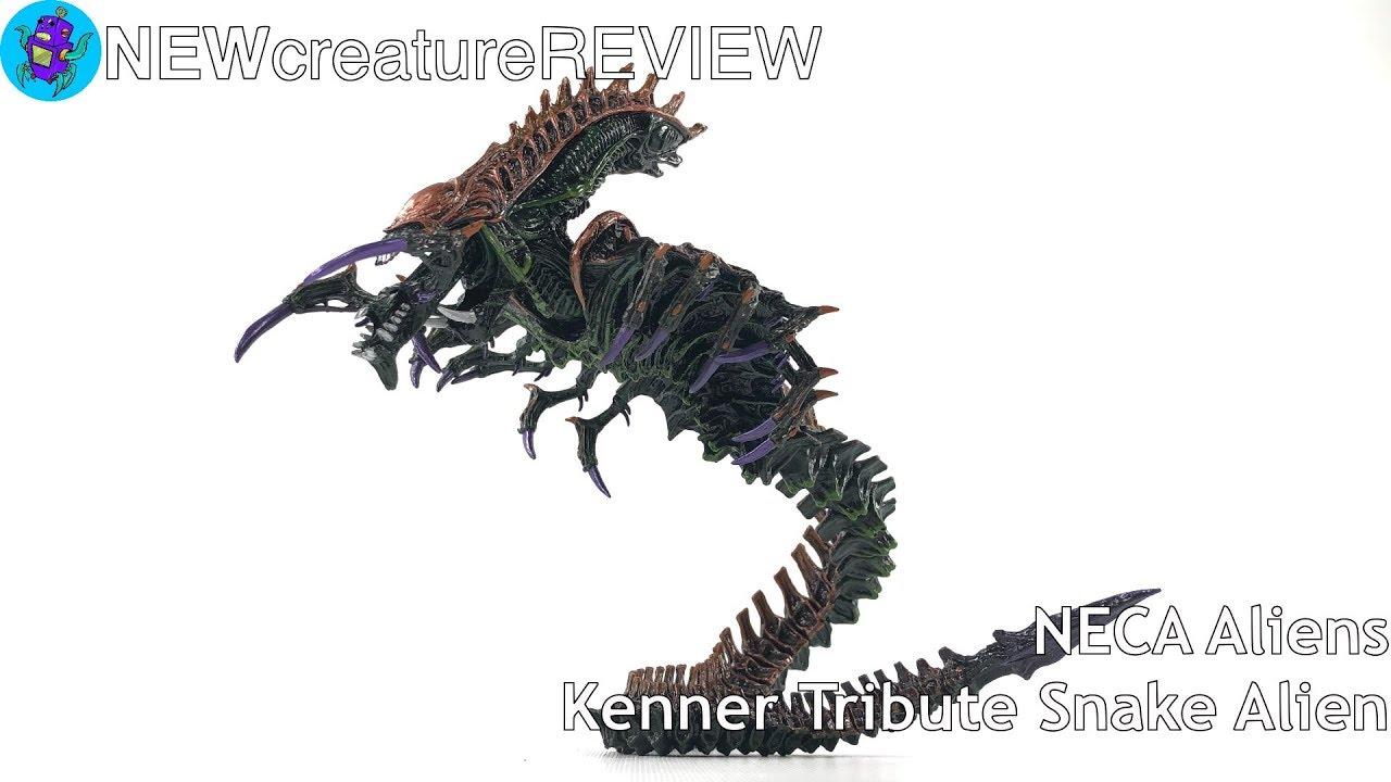 NECA Aliens Kenner Tribute Snake Alien REVIEW