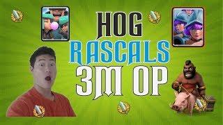 Hog 3m Rascals OP Deck.Live Gc Pro Tips.