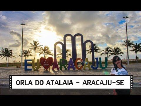 Orla de Atalaia - Aracaju - Sergipe - VLOG de viagem 4 de 5