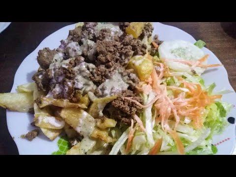 Higadito frito Peruano(comida callejera)