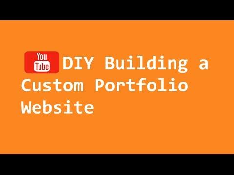 DIY Building a Custom Portfolio Website (Keep It Creative)
