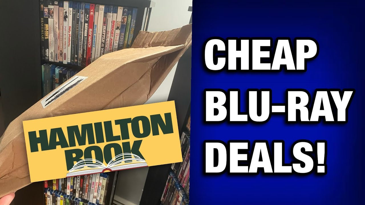 MORE CHEAP BLU-RAY DEALS FROM HAMILTON BOOK!   COLLECTION UPDATE