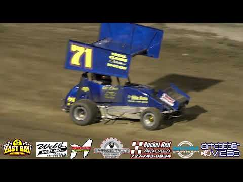 Micro Sprints Heat and Feature East Bay Raceway Park 9 29 18