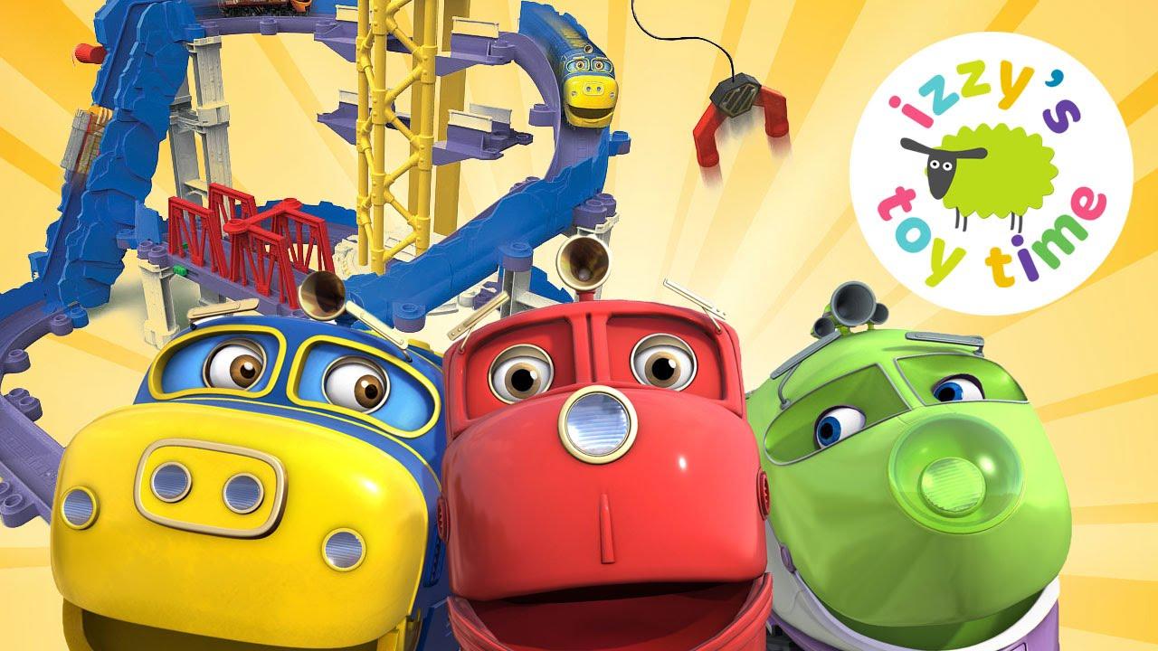 Chuggington Toy Trains! Big Build Adventure Set juguetes family toys ...