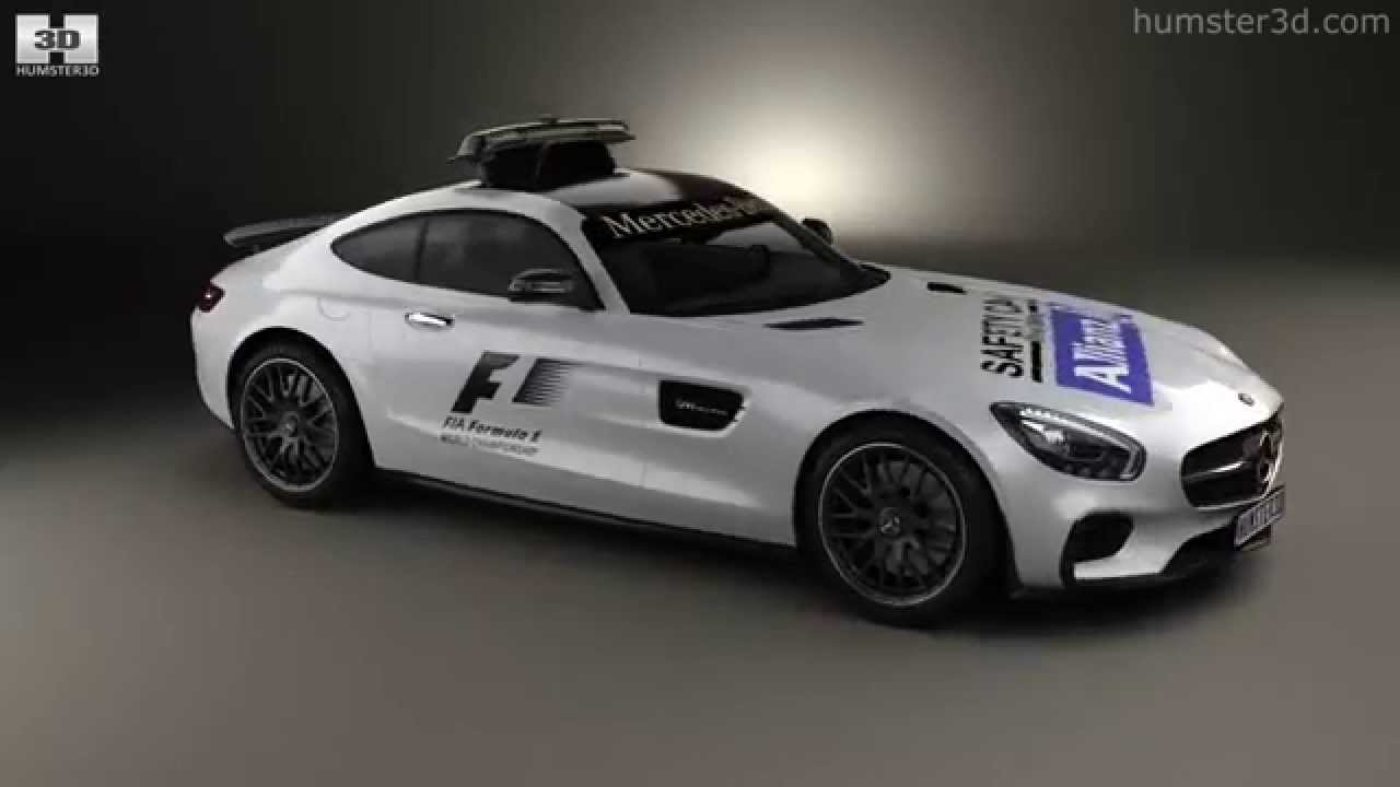 Mercedes benz amg gt s f1 safety car 2015 by 3d model for Mercedes benz f1 shop