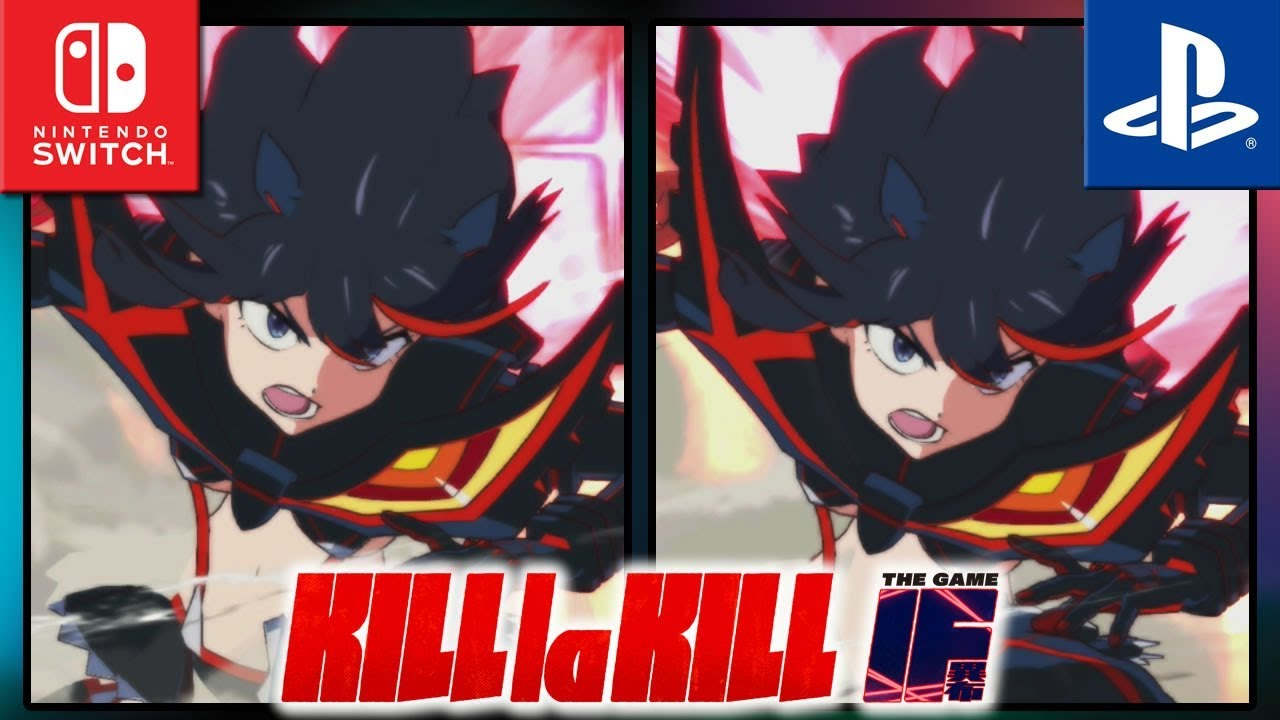 Kill la Kill The Game: IF | Switch VS PS4 | Frame Rate TEST