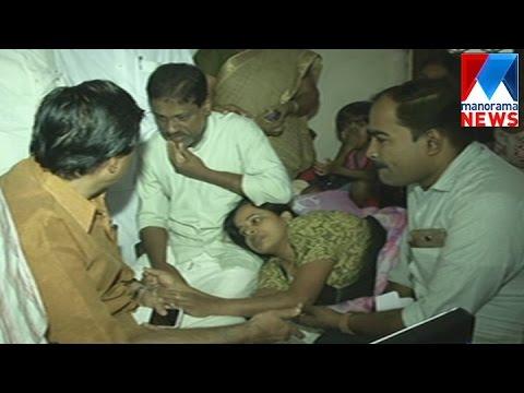 C Raveendranad visits Jishnu's home in Kozhikode    Manorama News