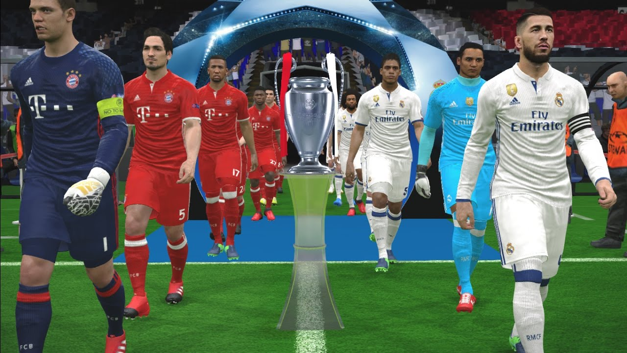 Uefa Champions League Final Real Madrid Vs Bayern Munich Pes 2017 Gameplay